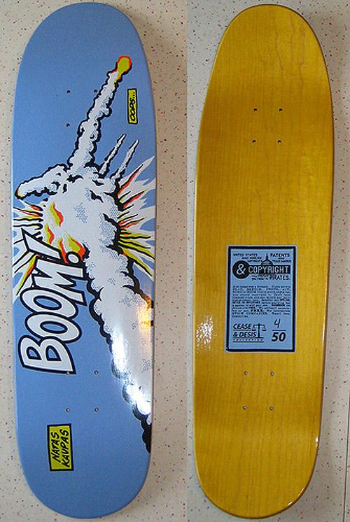 "Santa Cruz Jeff Grosso /""Alice/"" Cease /& Desist //100 skateboard deck New"