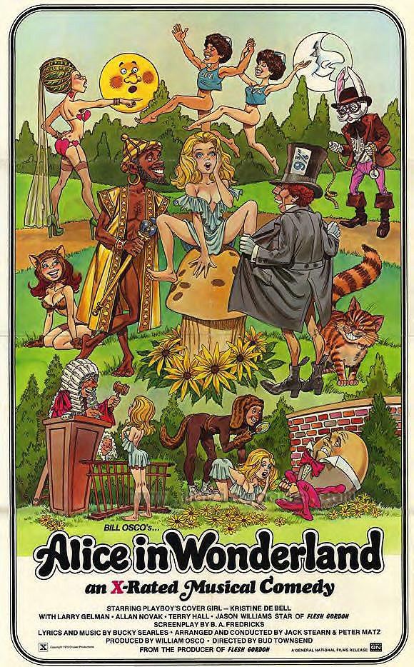 ALICE IN WONDERLAND (SUBVERSIVE VERSION) 1976 TRAILER ...