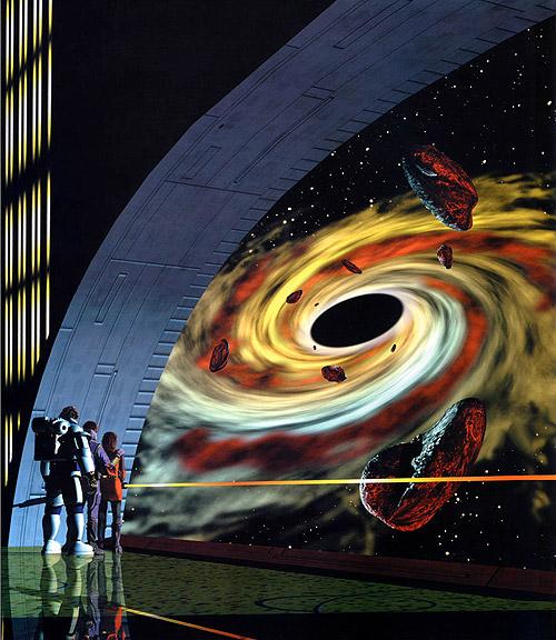 70s Sci-Fi Art: Fred Gambino - Black Hole