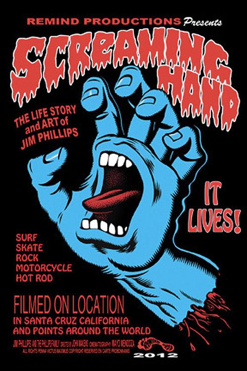 "JIM PHILLIPS ""SCREAMING HAND"" MOVIE POSTER   WeBringJustice"