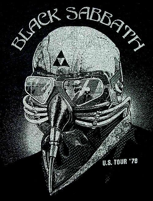Black Sabbath Never Say die 1978 Tour affiche