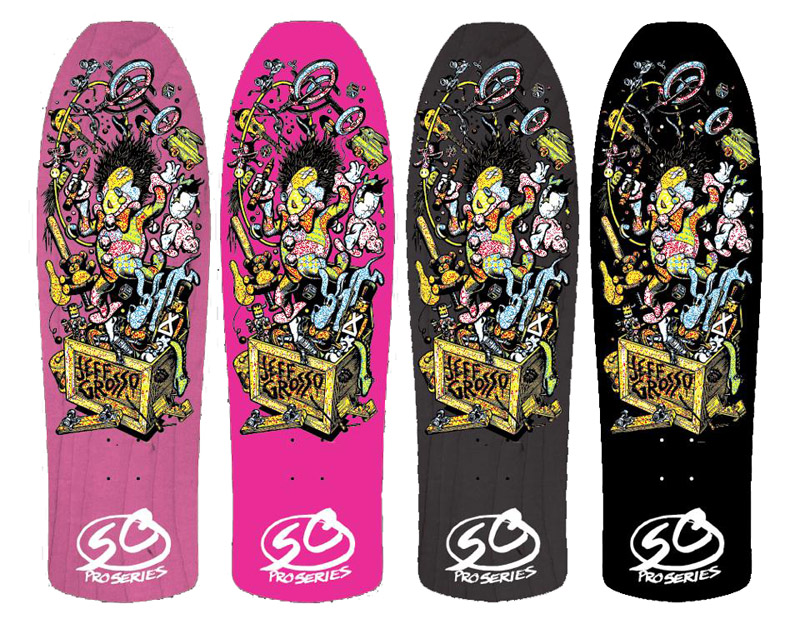 "44083f9798 SANTA CRUZ JEFF GROSSO ""TOYBOX"" UPDATED DECK (EARLY PREVIEW ..."